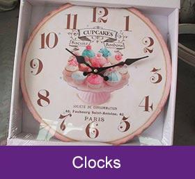garden centre clocks