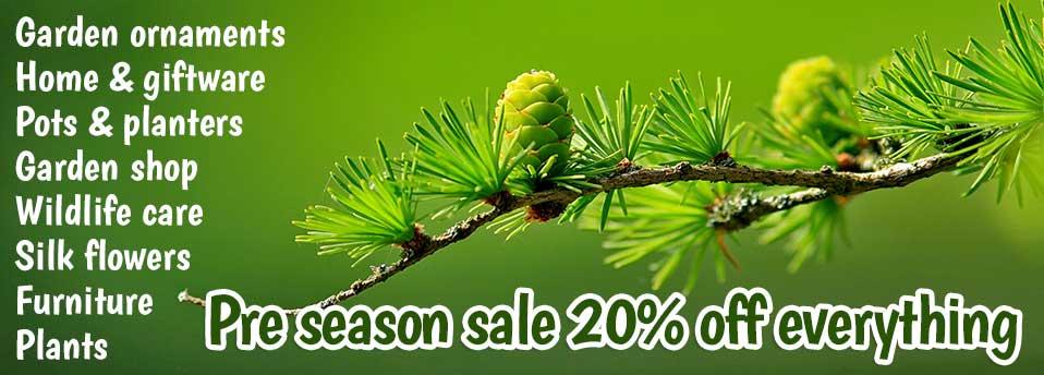 pre season sale