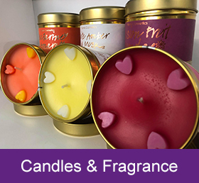 candles and fragrance