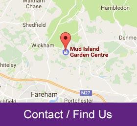 find contact mud island garden centre hampshire
