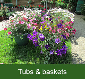 tubs and baskets