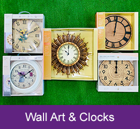 wall art clocks garden centre hampshire